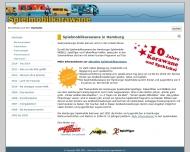 Bild Webseite Verein zur Förderung der Jugendarbeit Hamburg