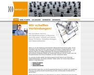 Bild Webseite Versakom Service München