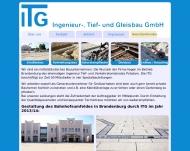 Bild ITG Ingenieur-,Tief- und Gleisbau GmbH
