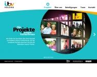 Bild Webseite ITV Studios Germany Holding Köln