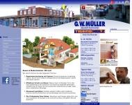 Bild Webseite Verwaltungsgesellschaft G.W. Müller Flensburg