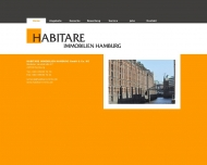 Bild Webseite Verwaltungsgesellschaft Habitare Immobilien Hamburg Hamburg