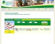 Bild Webseite Wohnungsbaugenossenschaft Amtsfeld eG Berlin