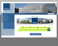 Bild Webseite Vitec Immobilien-Management und Consulting Berlin