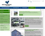 Bild Webseite  Waldkraiburg