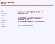 Bild Webseite Wolf M. J. Nitschke Düsseldorf