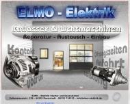 ELMO Elektrik - Anlasser und Lichtmaschinen