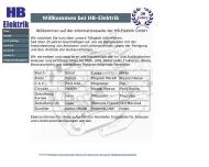 Bild Webseite HB-Elektrik-Anlasser und Lichtmaschinen Gesellschaft Darmstadt