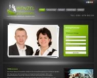 Bild Webseite Wenzel Immobilien Berlin