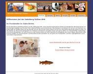 Bild Webseite Fischhandlung Sattelberg - Pelikan Berlin