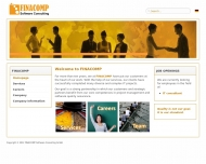 Bild Webseite FINACOMP Software Consulting Köln