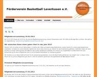 Bild Förderverein Basketball Leverkusen e.V.