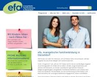 Bild Webseite Evangelisches Familienbildungswerk Düsseldorf Düsseldorf