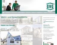 Bild Webseite GVG Grundstücks- Verwaltung  und Verwertungsgesellschaft München