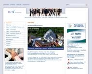 Bild Webseite KHT Academy UG Dortmund