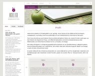 Website Katharina Bathe & Julia Niles