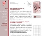 Bild Webseite Klaus Grimmer Unternehmensberatung Wiesbaden