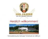 Bild Webseite Harburger Turnerbund von 1865 Hamburg