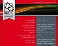 Bild Webseite KNELL WERBE- und DESIGN Trebur