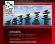 Website KNELL WERBE- und DESIGN