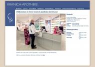 Bild Webseite Kranich-Apotheke, Dietmar Schnelle e. Kfm. Dortmund