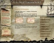 Bild Webseite LACHS & BUTT - Gesellschaft für Frischfischhandel Berlin