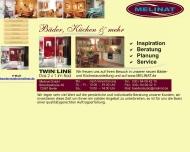 Bild Webseite Melinat Berlin