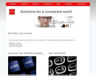 Bild Webseite MicroDoc Computersysteme München