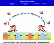 Bild Webseite Münchner Zwergerl München
