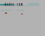 Bild Webseite media-com Gesellschaft für Medienberatung und Kommunikationslösungen München