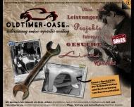 Bild Webseite Oldtimer-Oase Meckenheim