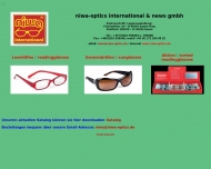 Bild Webseite Niwa optics international & news Essen