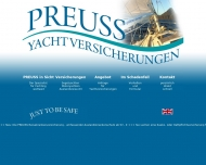 Bild Webseite Preuss Yachtversicherungen e.K Göttingen