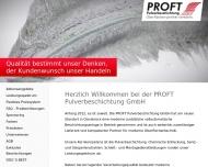Bild PROFT Pulverbeschichtung GmbH
