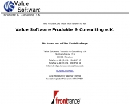 Bild Value Software Produkte & Consulting e.K.