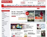 Bild Webseite Weltbild Plus Medienvertriebs München
