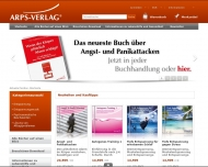 Bild Webseite ARPS-VERLAG Ltd. München