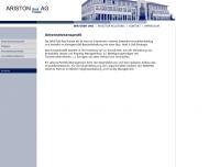 Website Ariston Grundbesitz