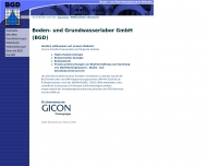 Willkommen bei der BGD Boden- und Grundwasserlabor GmbH