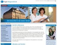 Bild Capio Deutsche Klinik Aschaffenburg GmbH