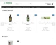 Bild Webseite Naturpräparate Gerhard Dieterich Heilbronn