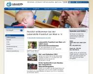 Website Lebenshilfe für Menschen mit geistiger Behinderung