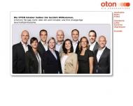 Bild Webseite OTON Die Hörakustiker Hamburg