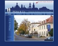Bild Webseite Pfütze Dresden