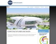 Bild Webseite Park Immobilien Projektentwicklung  und Planung München
