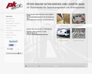 Bild Peter Krause Akten-Service und Logistik GmbH