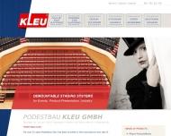 Bild Podestbau Kleu GmbH