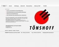 Bild Tönshoff Maschinen und Service GmbH