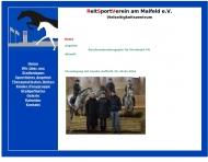Bild Webseite Reitsportverein Am Maifeld Berlin