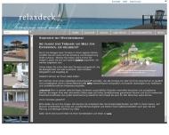 Bild Webseite relaxdeck UG Berlin